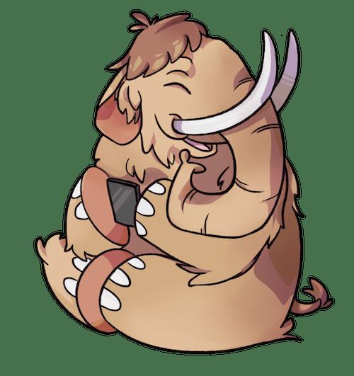 Mastodonmascotte